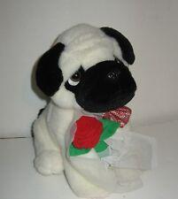 "Cute 8"" Valentines Day Shar Pei Puppy Dog Plush"