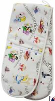 Cardew Design Alice in Wonderland double oven glove