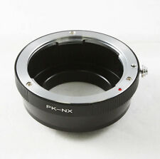 Pentax K PK Objektivadapter für Samsung NX mount adapter NX10 NX100 NX300 NX210