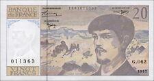 Frankreich / France 20 Francs 1997 Pick 151i UNC