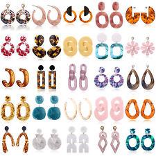 Boho Women Geometric Dangle Drop Hook Ear Stud Earrings Fashion Party Jewelry