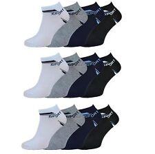 12 - 48 Paar Damen Herren Socken Sport Fü�Ÿlinge Sneaker Baumwolle Schwarz Wei�Ÿ
