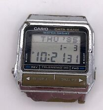 Casio DB-310 Cal. 871 Databank Vintage 80'S Digital Display with Defect 33mm 3WC