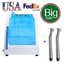 Dental Handpiece Maintenance Oil lubrication Lubricating cleaner + 2pc handpiece