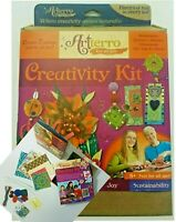 Artterro Creativity Kit Home School Make Crafts Art Flowers Jewelry Ornaments