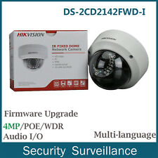 Hikvision 4MP Original DS-2CD2142FWD-I 3-axis Full HD Dome Network Camera 2.8mm
