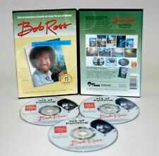 BOB ROSS JOY OF PAINTING DVD SERIES 16 / 3 DVD SET /390 MINUTES AND 13 PAINTINGS