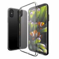 Pour Apple IPHONE X 10 (5.8) Étui de Protection Pare-Chocs Transparent Étui TPU