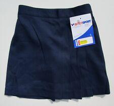 "trutex Kids Girls Junior School Skirt Elastic Waist Blue Age 4 W20"" BNWT"