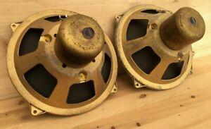 Grundig 20cm Phenolic CKS Alnico Breitbänder für Röhrenverstärker Siemens