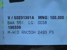 100 X M-Résistance rnc50h2493fs 249k, potentiomètres