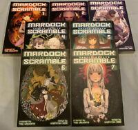 Mardock Scramble 1-7 - Kodansha Comics English Manga Book COMPLETE SERIES SET!