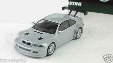 E46 BMW M3 GTR 1:43 car supercar sport car diecast model gray