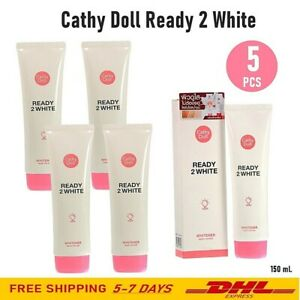 5X Cathy Doll Ready 2 White Body Lotion Brighten Moisture Pore Tightening 150 ml