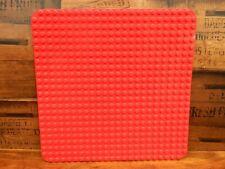 Lego Duplo Red 22 x 22 Stud Baseplate