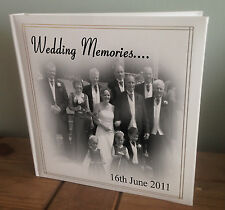 Personalised extra large photo album, unique present birthdays wedding christmas