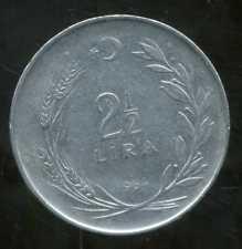 TURQUIE   2 1/2  lira 1964  ( bis )