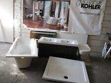 Badewanne, Duschtasse, Doppel-Waschtisch Artikel 18570W-00&Unterschrank, WC  NEU