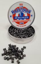 500 X MARKSMAN .177 / 4.5MM DOMED ROUND LEAD PELLETS - FULL TIN - FAST POST