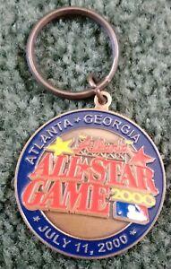 2000 MLB Atlanta All-Star Game Keychain Key Chain Braves Turner Field