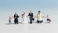 Noch 15860 HO/OO Gauge Wedding Party Figures