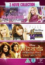 SHARPAYS FABULOUS ADVENTURE / HANNAH MOVIE / WIZARDS OF WAVE - DVD - REGION 2 UK