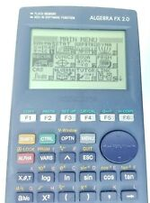 Casio Algebra FX 2.0 Graphing Calculator with Cover Tested Math Science READ