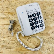 BT Big Large Button 200 Corded Telephone (White) Elderly / Visually Impaired
