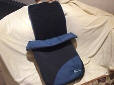 Silver Cross Pop Stroller Footmuff, Teal Used Returned needs new zip see picture