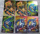 Lot of six, 1995 Marvel Fleer Ultra Spiderman Masterpieces, Venon & Carnage, Ltd
