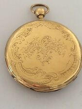 18K Gold Antique Quarter Repeater Pocket Watch
