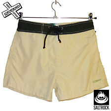SALTROCK WOMENS BOARD SHORTS TAN SMALL S UK 8 SURF BOARDSHORTS BNWT RRP £30