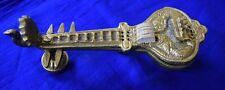 Sitar Tansen Guru Tanpura Brass Golden Indian Design Showpiece Table Decor BM394
