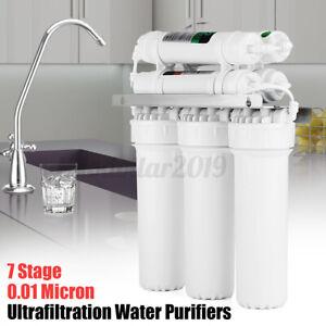7 Stufen Wasserfilter Umkehrosmose Umkehrosmoseanlage Wasserfilter 120 L/