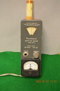Heathkit GD-1B Grid Dip Meter, includes all coils; circa 1960