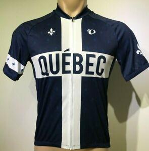 New PEARL IZUMI Men Select Escape LTD Short Sleeve Cycling Jersey QUÉBEC Custom
