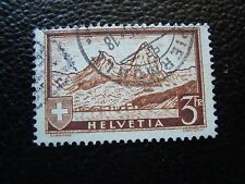SUISSE - timbre yvert et tellier n° 244 obl (C5) stamp switzerland