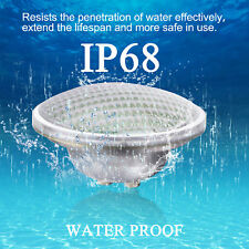 21W 12V Led Swimming Pool Underwater Light Bulb RGB 7 Modes Spa Waterproof IP68