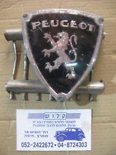Peugeot 404 FRONT GRILL  Center Badge , silver +  black