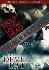Night of the Living Dead / The Devil Bat (Dvd, 2016) Brand New
