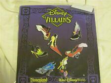 Disney Trading Pins  97736 Villain Shoes Mini-pin Set