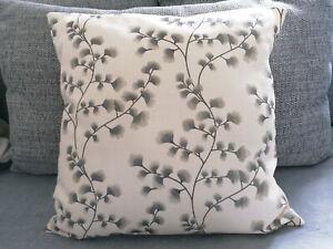 Haiku Glitter Cream & Grey Cushion Covers - All Sizes
