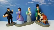 DEPT 56 Dickens Village A BUSY DAY IN TOWN(Set of 3)!
