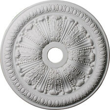 "27 7/8""Od x 3 7/8""Id x 2 1/2""P Ceiling Medallion (Canopies up to 6 3/4""), Cm6056"