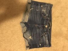 New Womans Express Jean Shorts Size 2