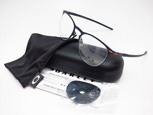 New Authentic Oakley Money Clip OX5145-0350 Matte Dark Navy Eyeglasses 50mm