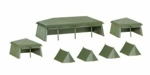 HERPA 1/87 SCALE TENT SET - ASSEMBLY KIT 7 PIECES MODEL | BN | 745826