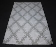 Hand Woven Jute Wool Geometric Area Rug 4x6 Ft Decorative Area Rug DN-1402