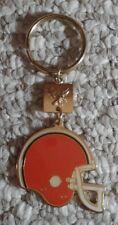 Vintage Cleveland Browns NFL football enamel Keychain Keyring 1988 NOS