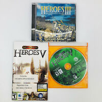Might and Magic Heroes III and V - Ubisoft - 1999 & 2000 - for Mac